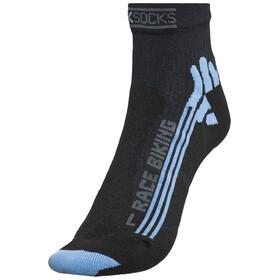 X-Socks Bike Racing Skarpetki Kobiety niebieski/czarny